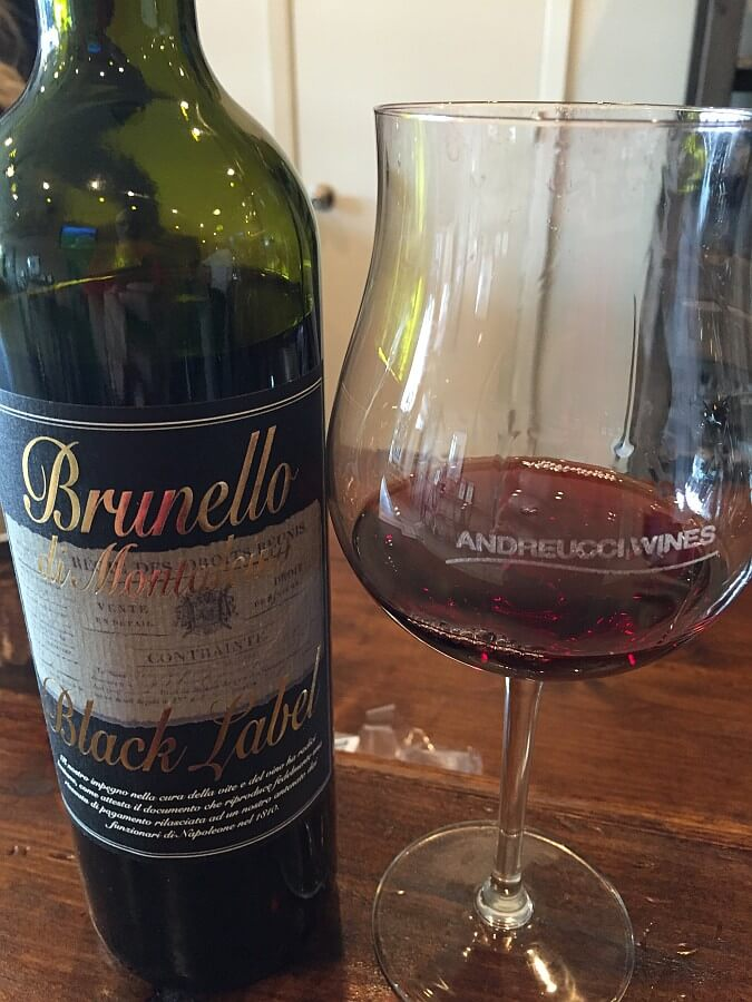 Andreucci Wines Brunello