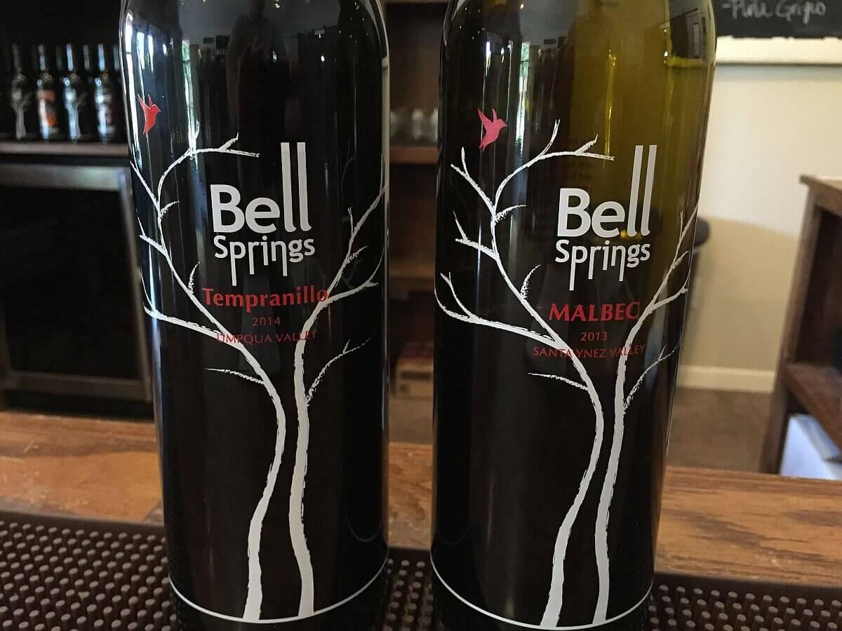 Bell Springs wines