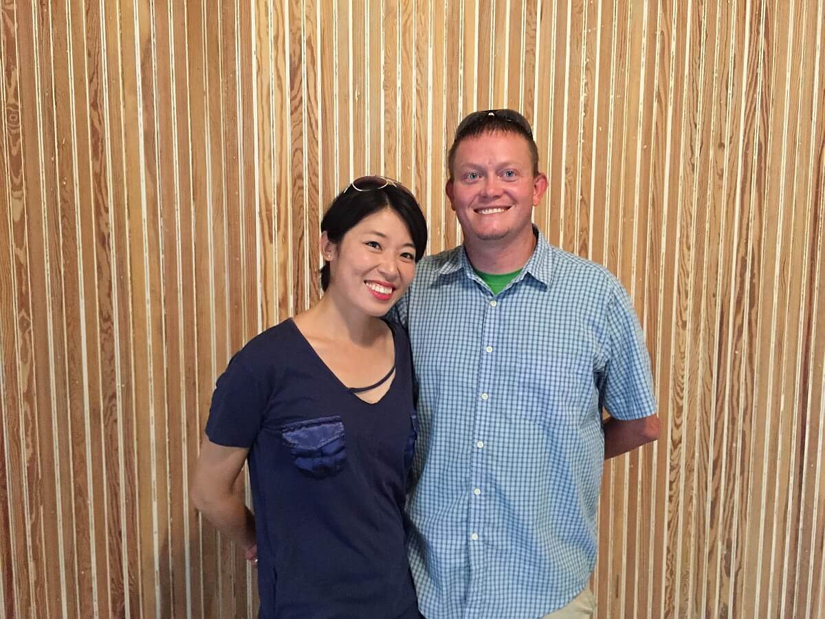 Yanmei and Nolan Newsom
