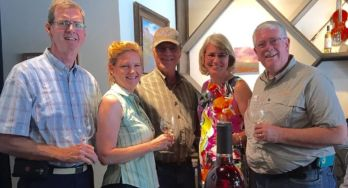 Shelly Ware, Betty & Cliff Bingham, Laurie Ware, Carl Hudson