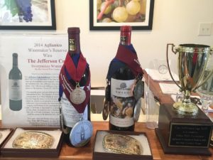 Eden Hill Vineyard awards
