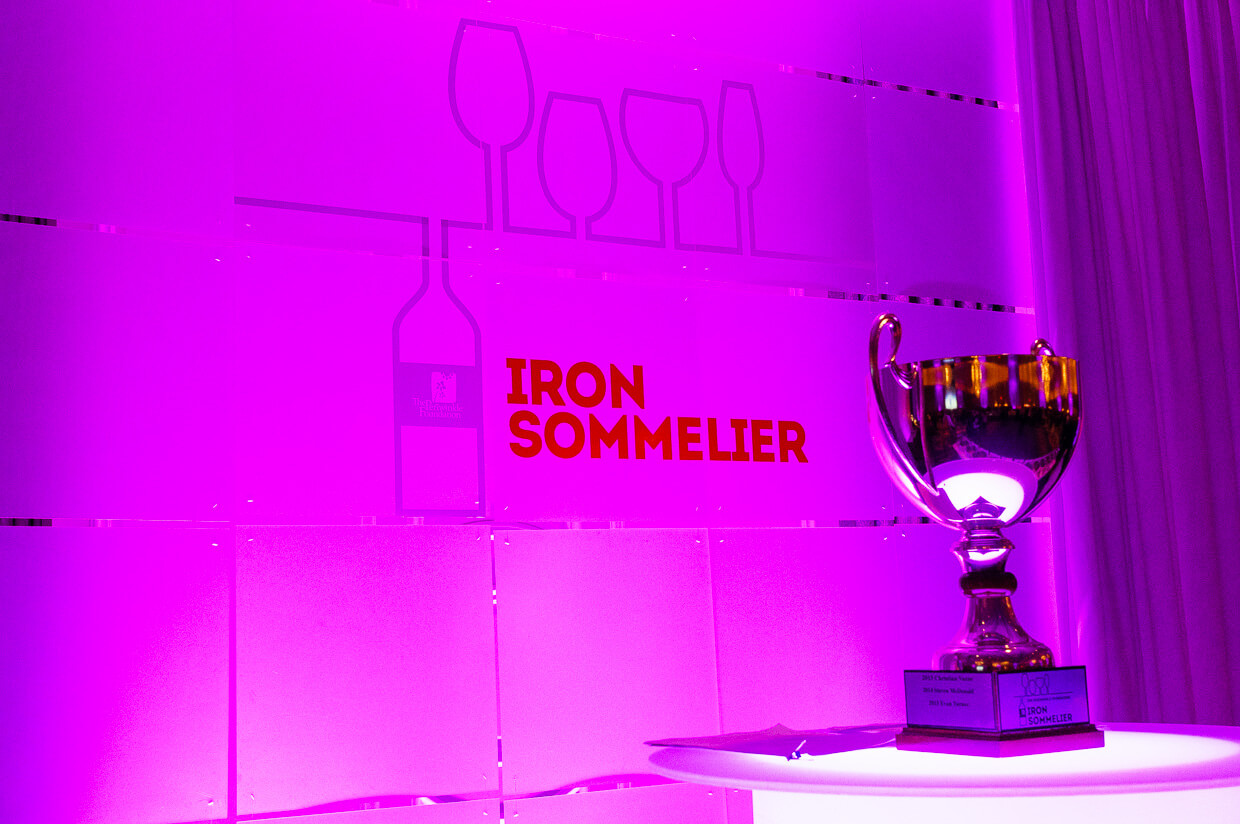 Iron Sommelier 2016 trophy