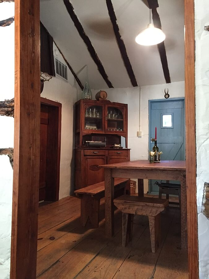 Pontotoc Vineyard cabin