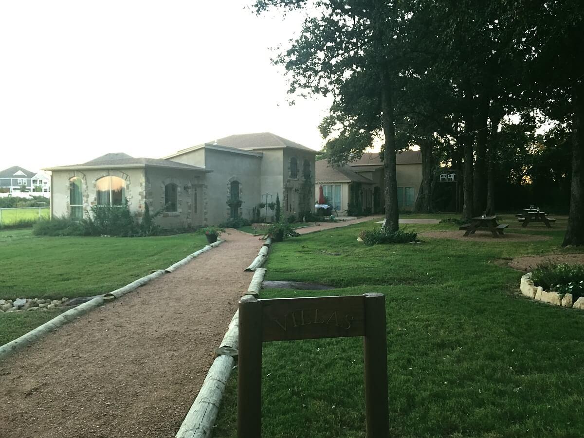 Fortunata Winery villas