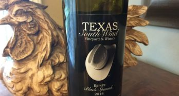 Texas SouthWind Black Spanish bottle