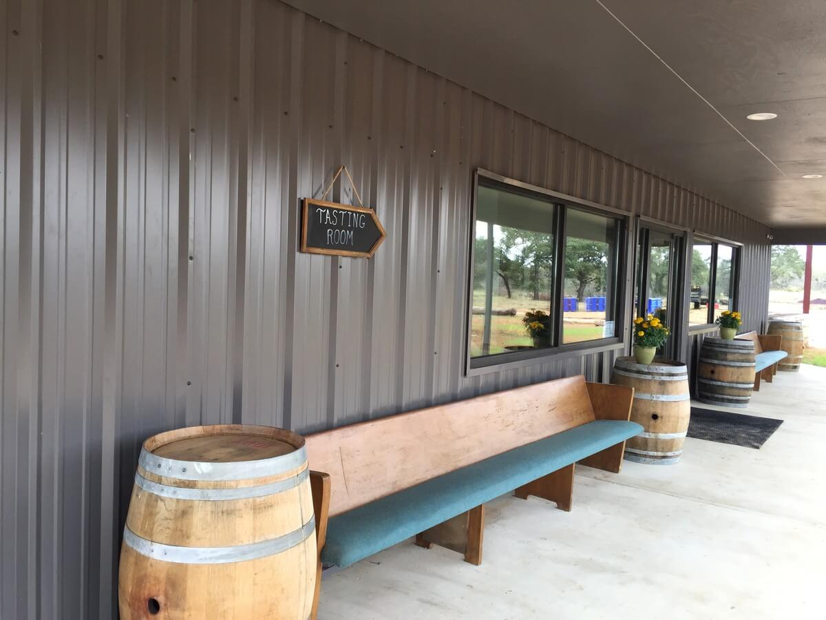 1851 Vineyards front porch