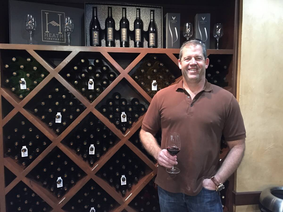 Brian Heath of Grape Creek Vineyards