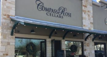 Compass Rose Cellars Fredericksburg outside