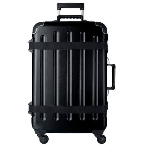 VinGardeValise Grande Matte Black Front Closed