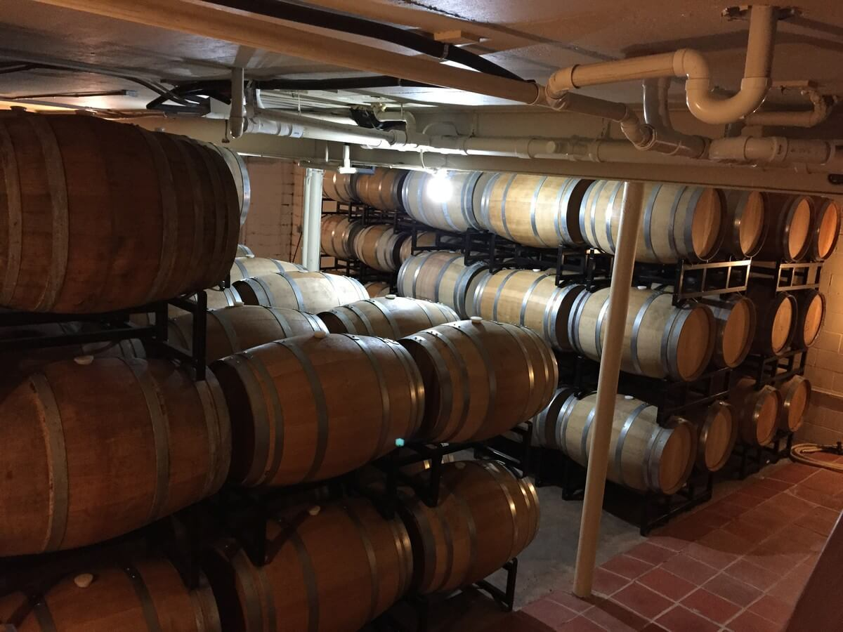 Grape Creek Underground Barrel Cellar