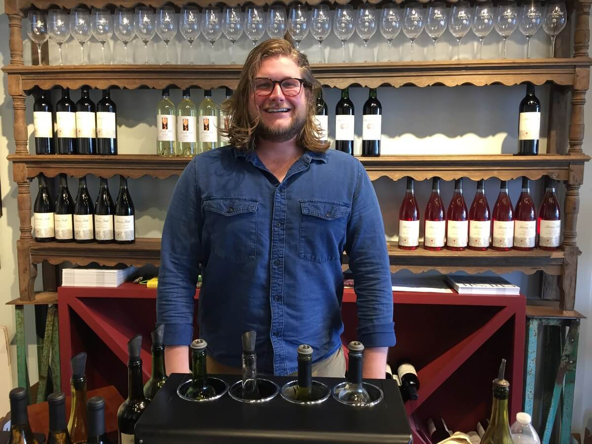 John Turbeville of Narrow Path Winery
