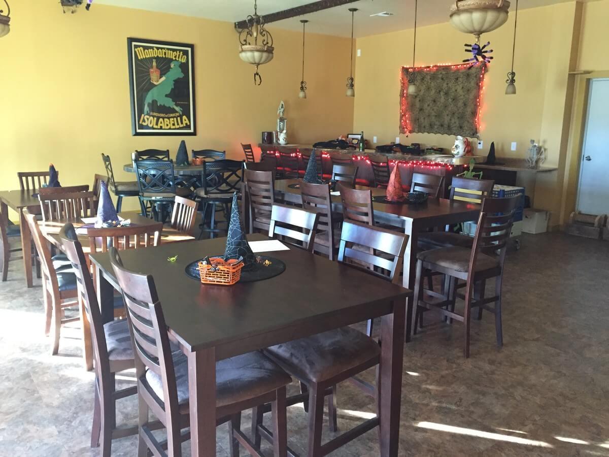 Lenoir-Sage Vineyards event room