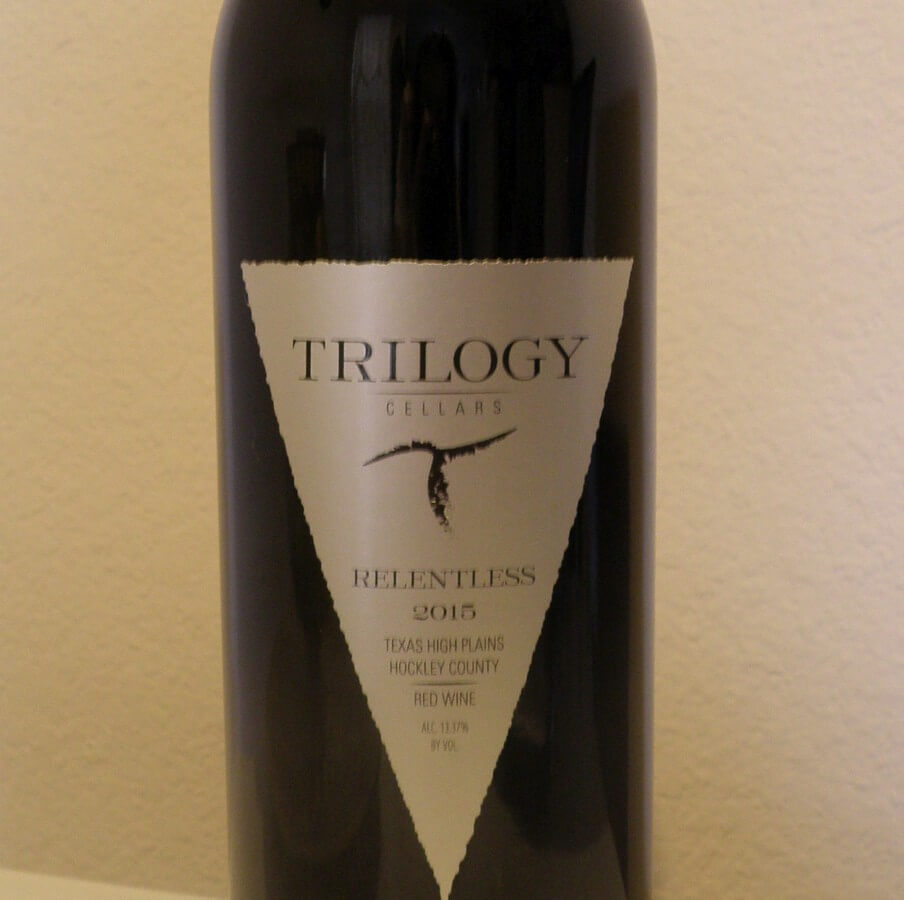 Trilogy Cellars Relentless