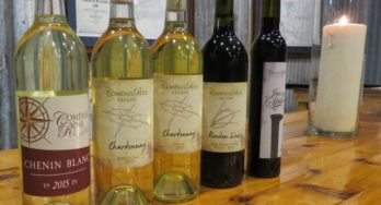Compass Rose dinner wines