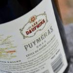 Review of Les Dauphins Côtes du Rhône Villages Puyméras Rouge 2014