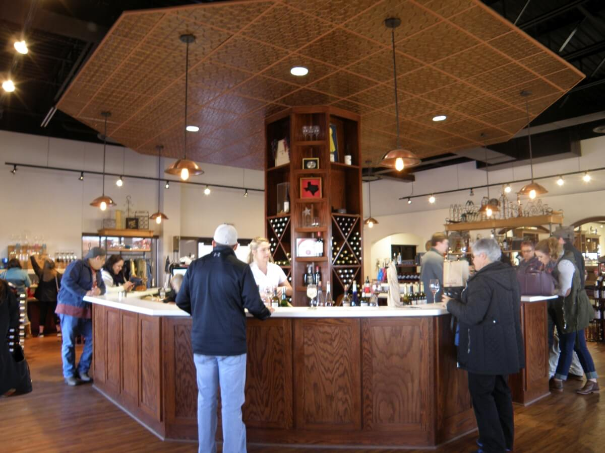 Llano Estacado Winery tasting room