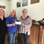 Armadillo's Leap gives First AL Gives Award