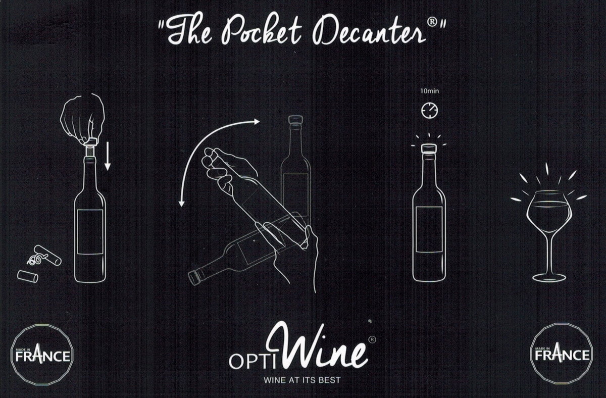 Optiwine instructions