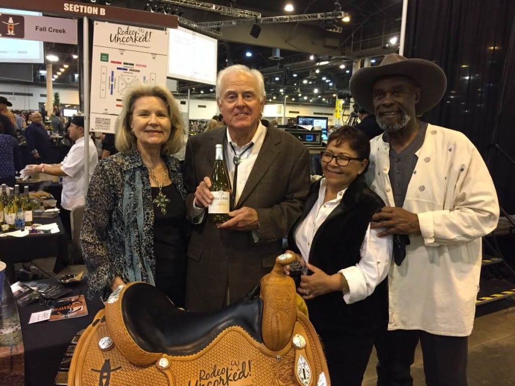 Fall Creek Vineyards - Susan & Ed Auler with Martha Cervantes & Alphonse Dotson (Top White Wine)