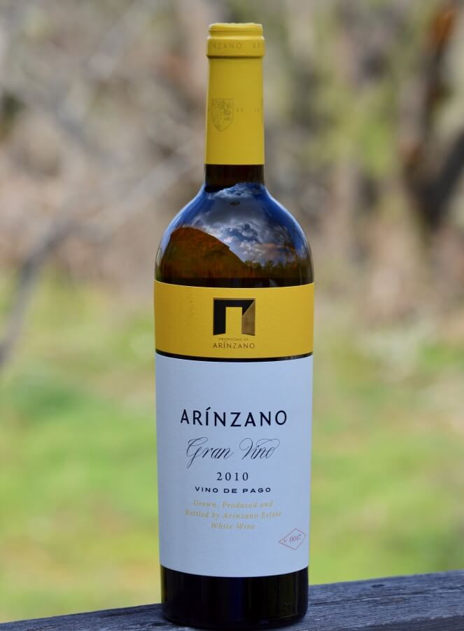 Arínzano Chardonnay bottle
