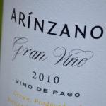 Arínzano Gran Vino Blanco Chardonnay 2010 Wine Review