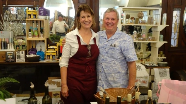 Carol and Wayne Milberger - Kerrville Hills Winery
