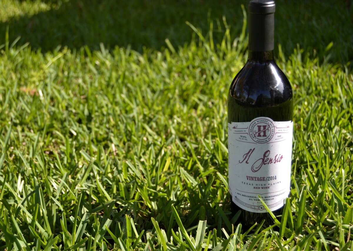 Il Sensio 2014 finished wine