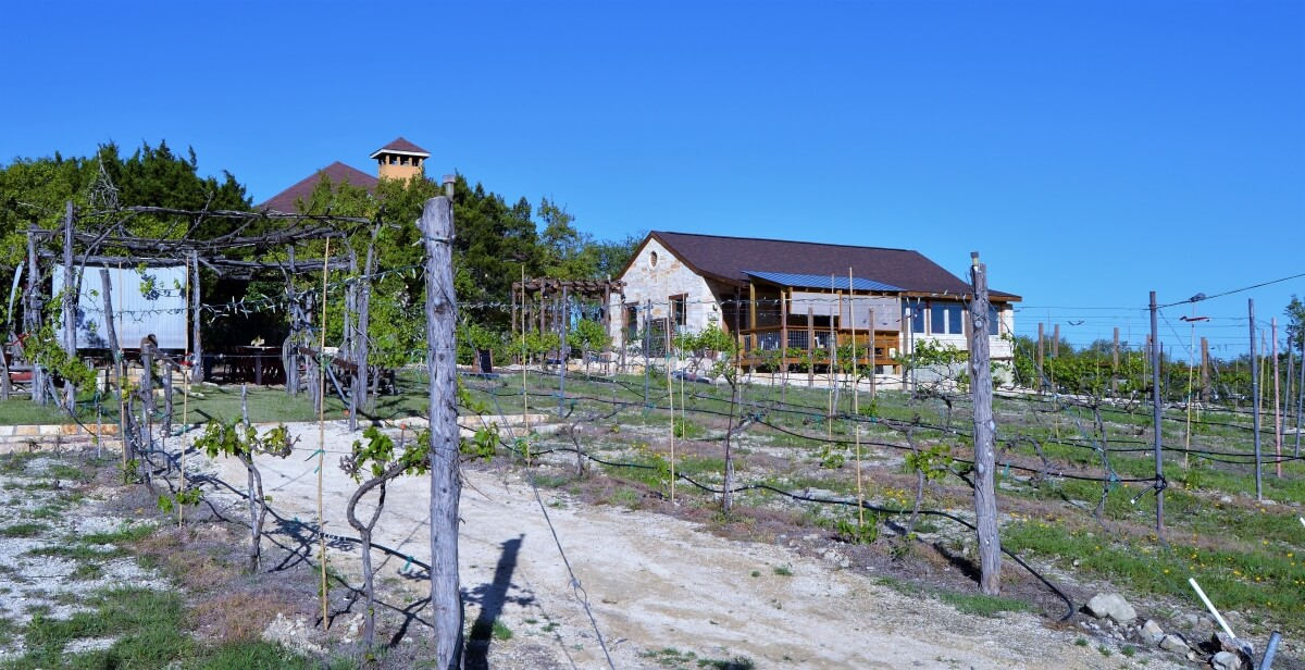 Lara Vineyard building