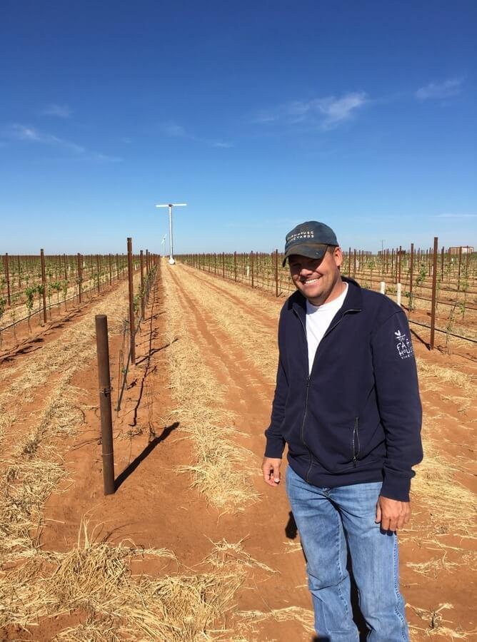 Nicolas Seaton at Farmhouse Vineyards