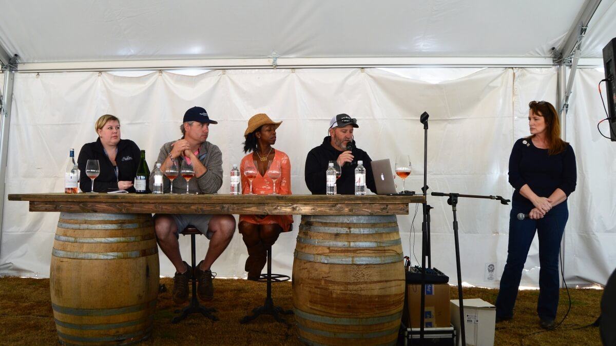 Texas Wine Revolution VIP panel