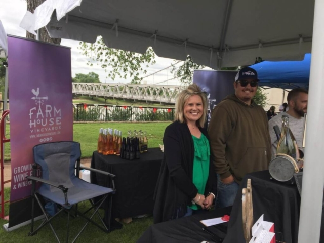 Farmhouse Vineyards, Meadow: Traci and Anthony Furgeson