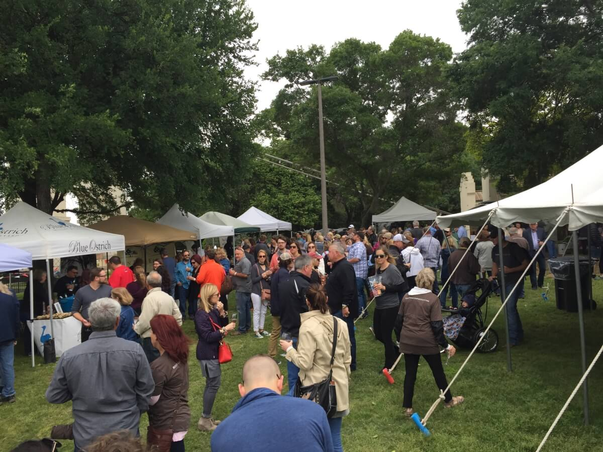 Rootstock 2017 Wine Festival tents