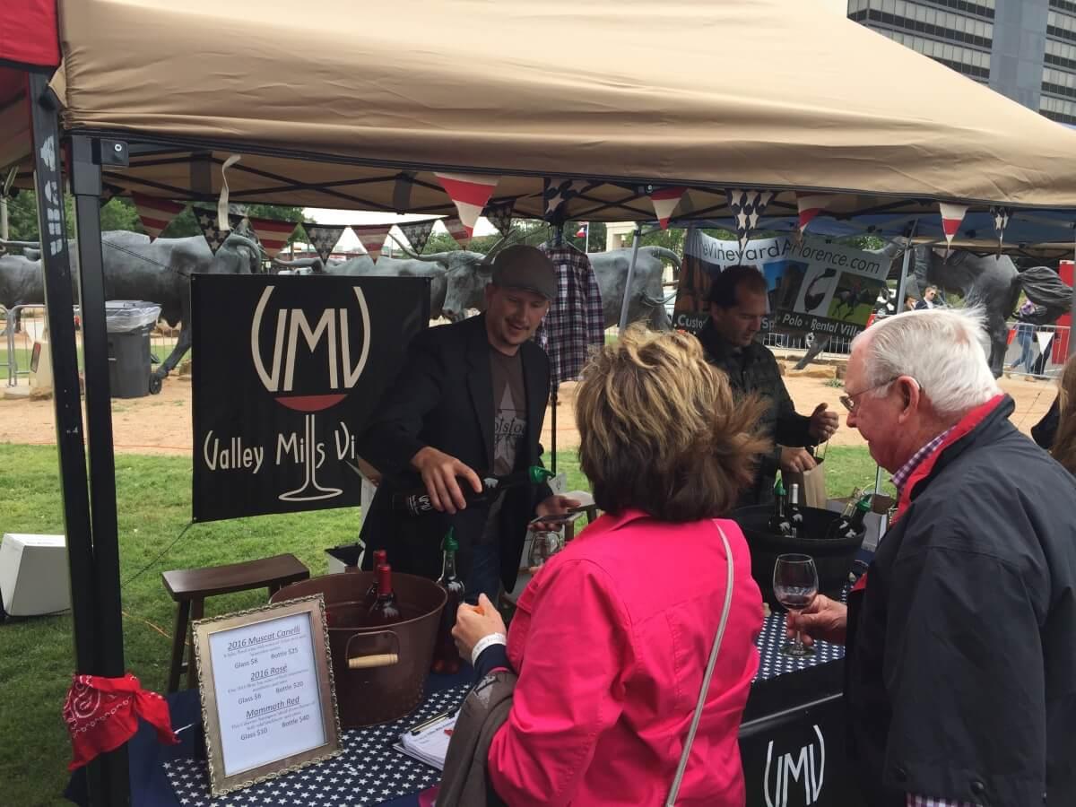 Valley Mills Vineyards, Waco: Marc Moberg