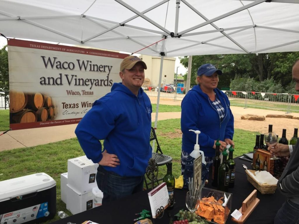 Waco Winery, Waco: Alan and Rebecca Brown