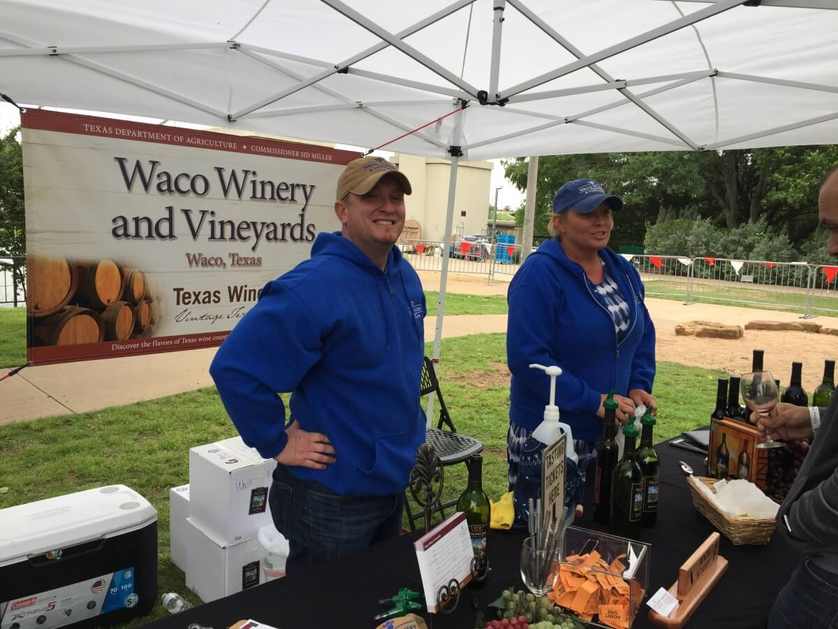 Waco Winery, Waco: Alan and Rebecca Brown