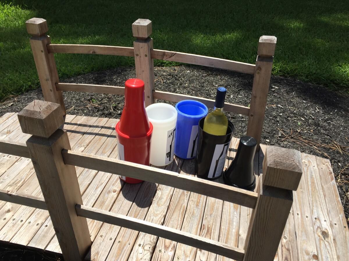 Bottle Guardian in use