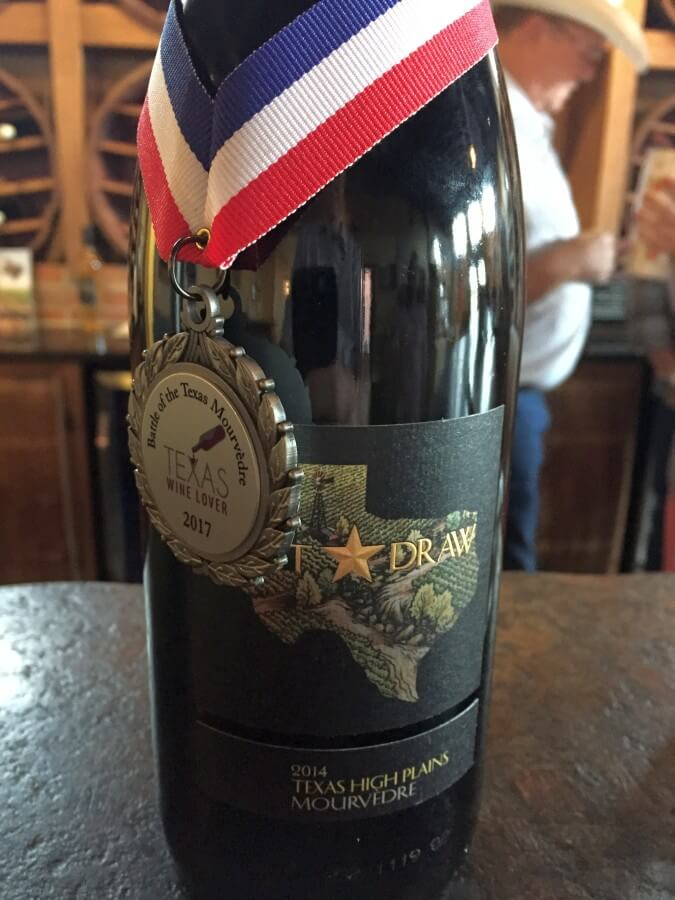 Lost Draw Mourvedre with medal
