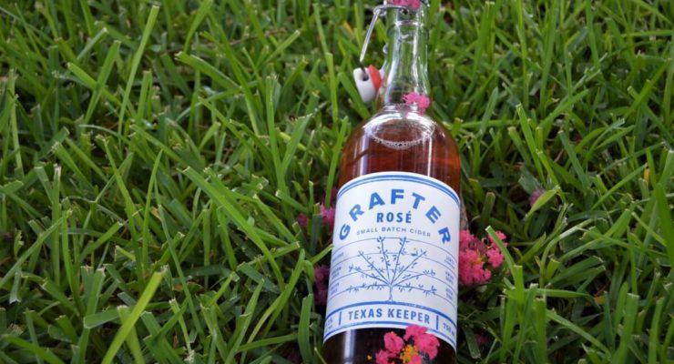 Texas Keeper Cider bottle