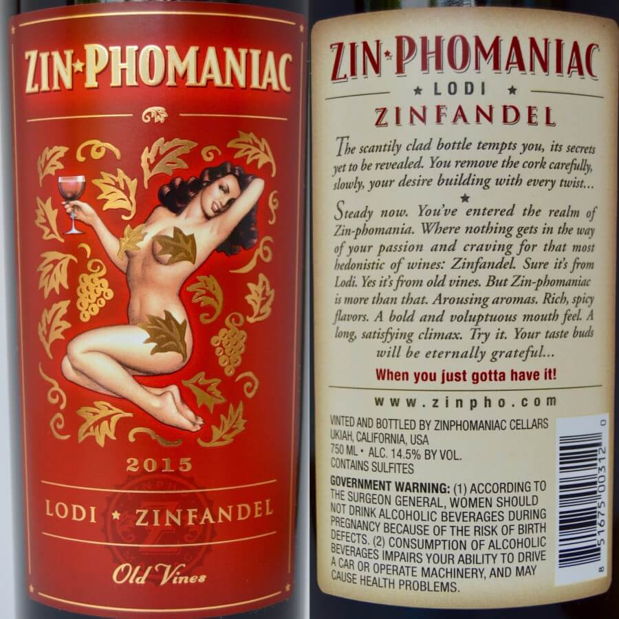 Zin-Phomaniac labels