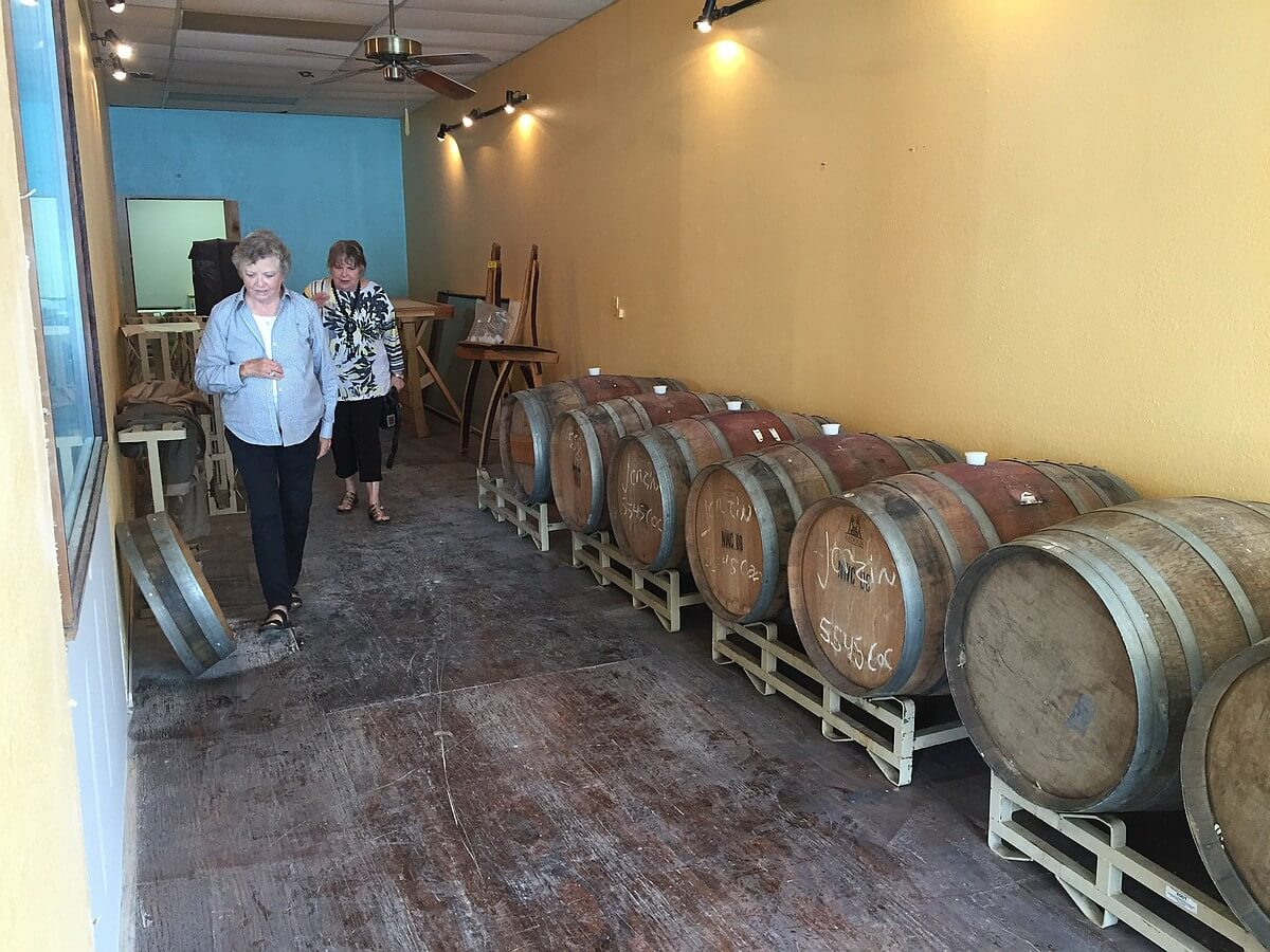 Silver Spur Winery barrels
