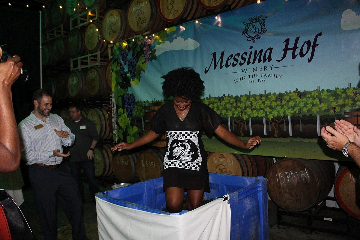 Messina Hof Grape Stomping