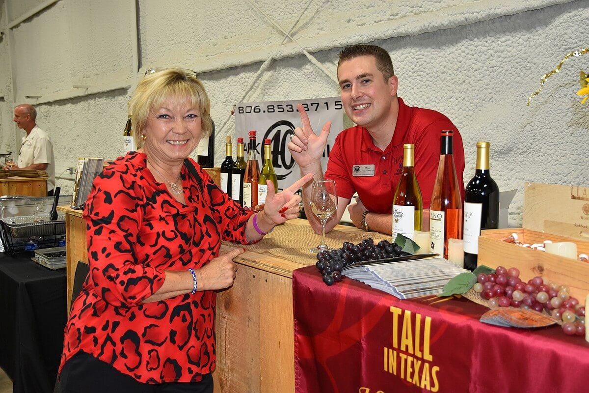 Susan and Mike at Llano Estacado Winery