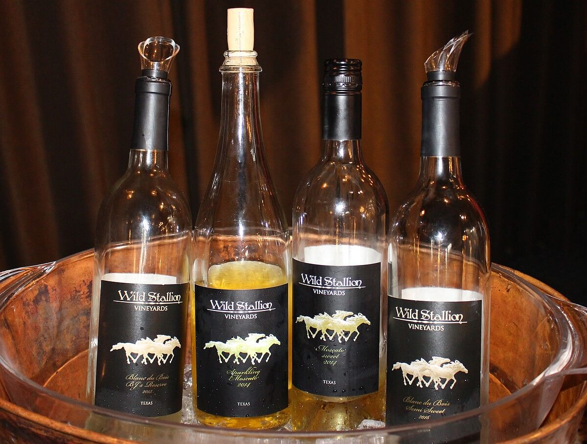 Wild Stallion Vineyards wines