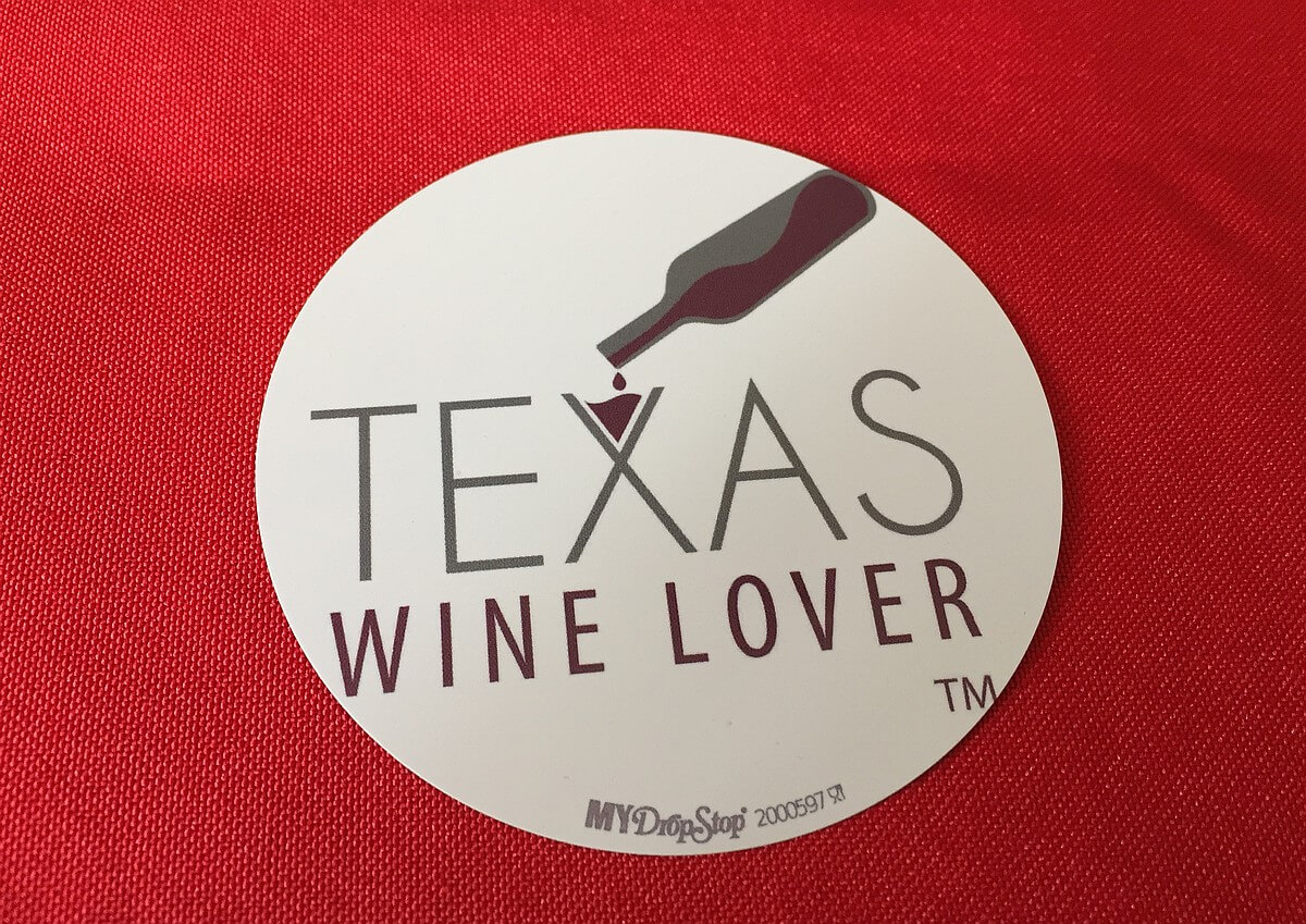 Texas Wine Lover DropStop
