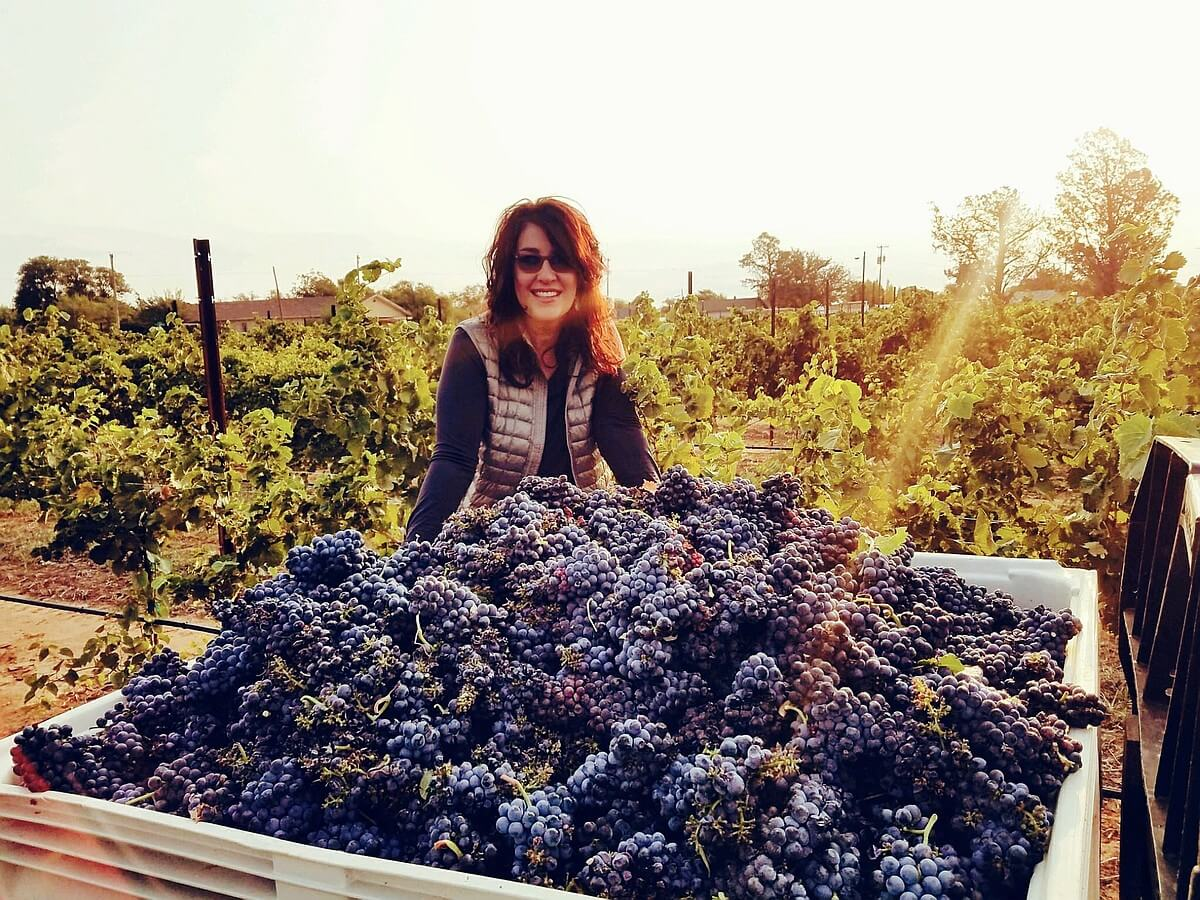 Katy Jane Seaton of Farmhouse Vineyards