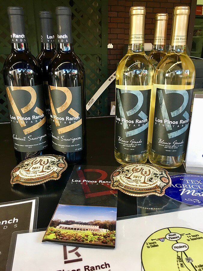 State Fair of Texas - Los Pinos Ranch Vineyards