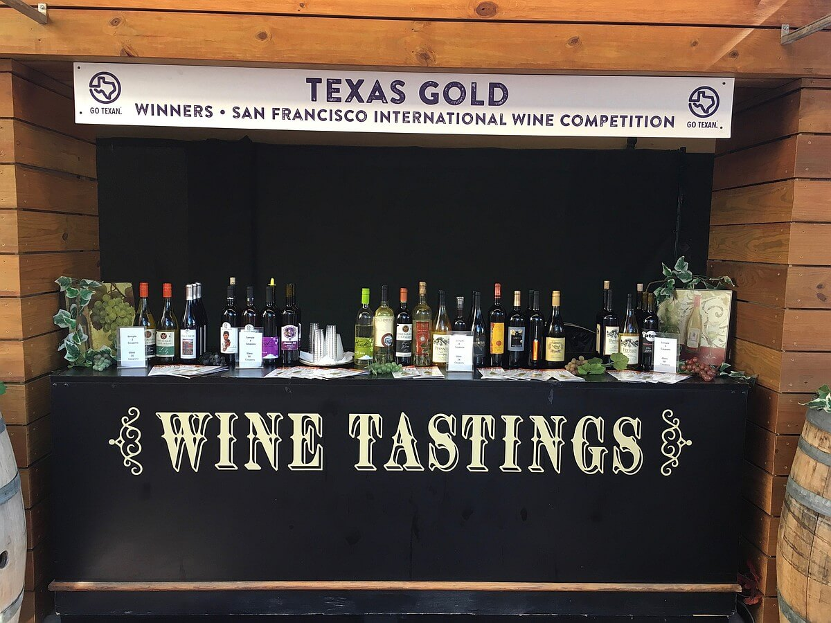 State Fair of Texas - San Francisco International wines