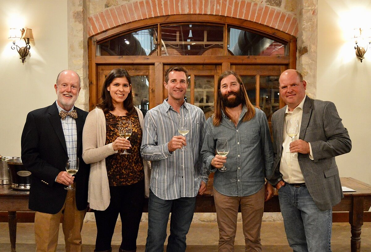 Texas Fine Wine winery representatives
