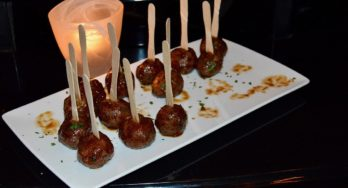 lamb meatball appetizer
