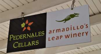 Armadillo's Leap sign